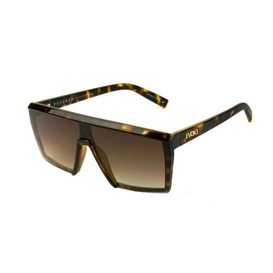 c3ad3a1f7 Óculos de Sol Evoke Futurah G21 Turtle Shine Feminino - Marrom ...