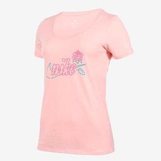 047104857e04a Compre Camiseta Nike Algodão Feminina Online