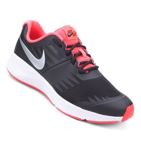 dbea5fbddd Tênis Nike Infantil Star Runner - Preto e Prata