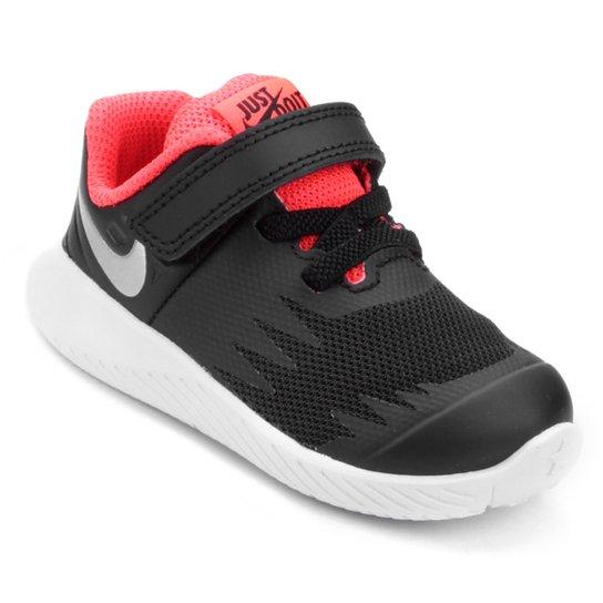 36beec10ab Tênis Infantil Nike Star Runner Masculino - Preto e Prata