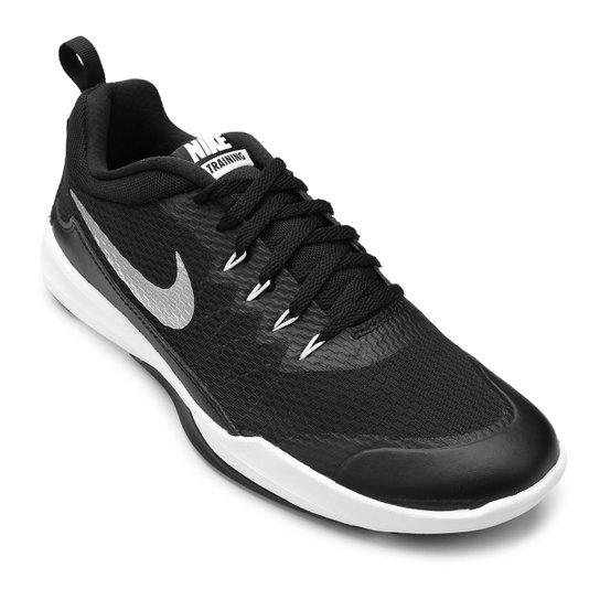 22f8513f26 Tênis Nike Legend Trainer Masculino - Preto e Prata - Compre Agora ...