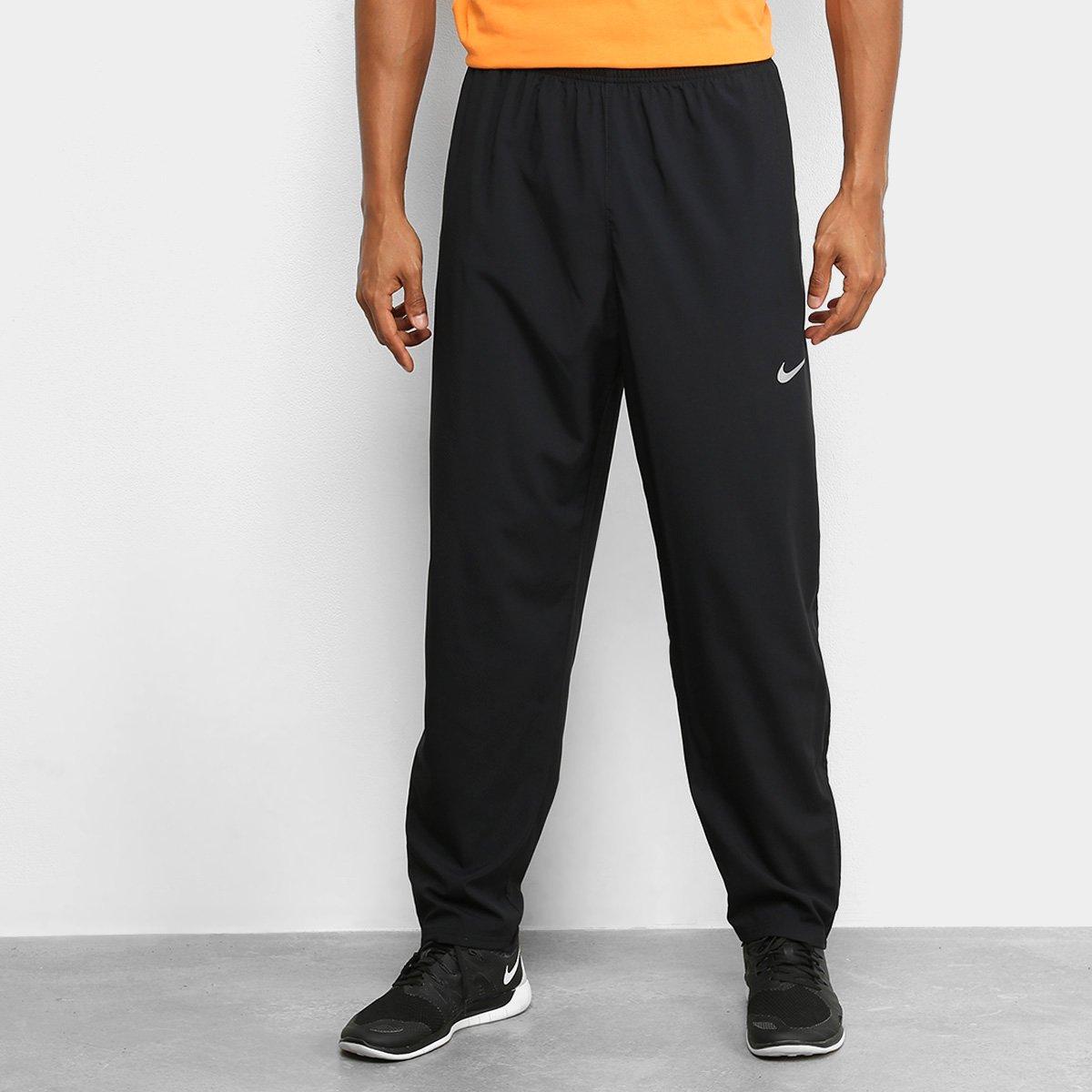 Calça Nike Run Stripe Woven Masculina - Tam: G
