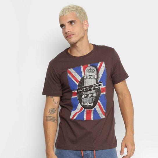 246feeab58 Camiseta New Skate England Masculina - Compre Agora