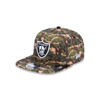 Boné 950 Original Fit Oakland Raiders NFL Aba Reta Snapback New Era d43f2a092d9