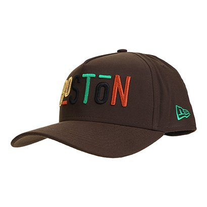 Boné New Era NBA Boston Celtics 940 Snapback Aba Curva Masculino