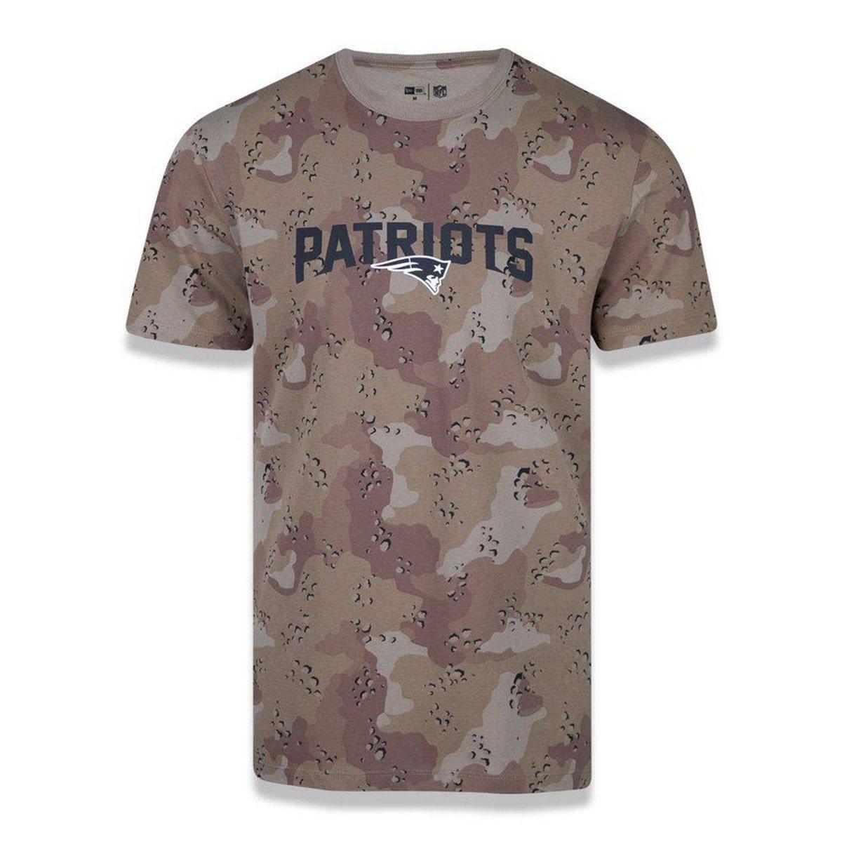 Camiseta NFL New England Patriots New Era Desert Full Masculina