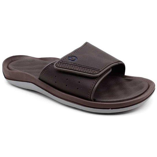 8b04c26ebe Chinelo Masculino Cartago Santorini Velcro - Compre Agora