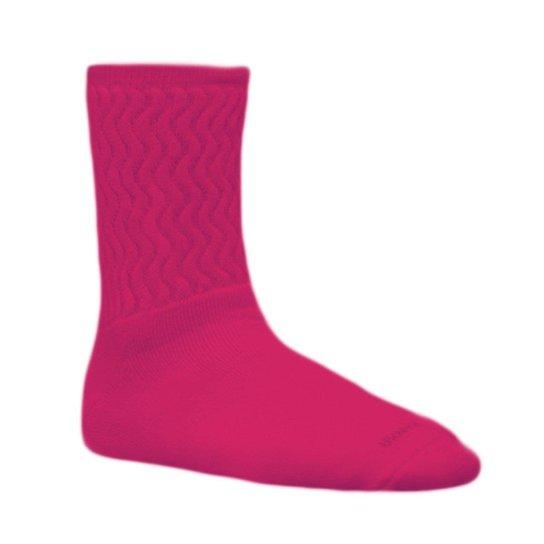 fd5a8eb2c Meia Kanxa Aeróbica Atoalhada Cano Alto - Pink - Compre Agora