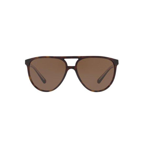 9cf28f7d6 Óculos de Sol Burberry Piloto BE4254 Masculino - Marrom | Netshoes