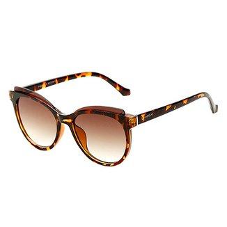 a6d3d782a Óculos de Sol Marielas Tartaruga Feminino