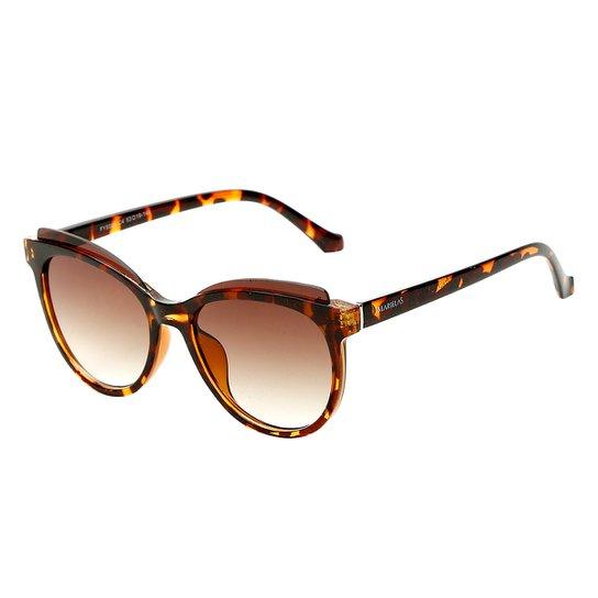 769b9baaf Óculos de Sol Marielas Tartaruga Feminino - Marrom | Netshoes