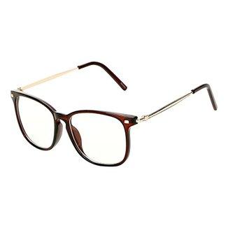f49f37196394b Óculos de Sol Marielas Transparente Feminino