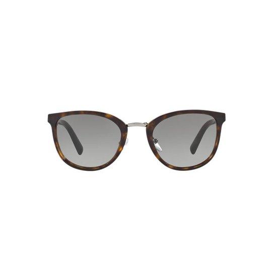 b14f3e4f9 Óculos de Sol Prada Redondo PR 22SS Masculino - Marrom | Netshoes