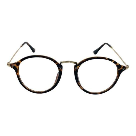 77a00906c71ab Armação Óculos de Grau Khatto Round Feminino - Compre Agora