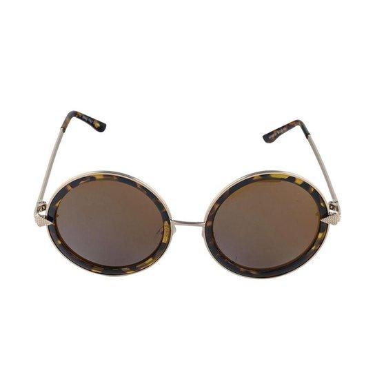 9af27ca77 Óculos de Sol Khatto Round Vintage Feminino | Netshoes