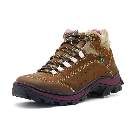 3a3c23afd7 Bota Adventure Atron Shoes Trilha - Marrom | Netshoes