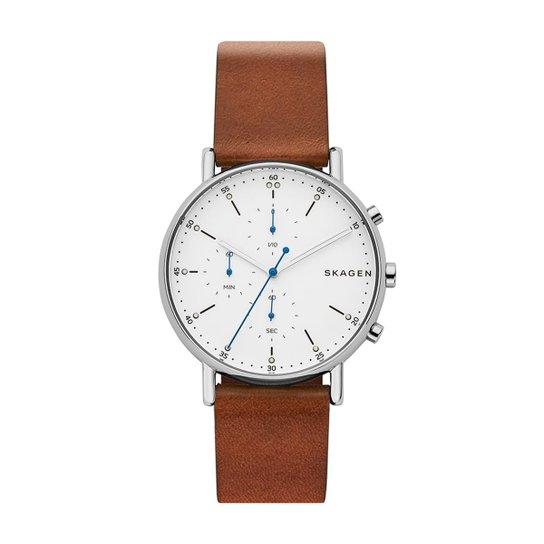 e96e08a12d7f3 Relógio Skagen Masculino Signatur - SKW6462 0MN SKW6462 0MN - Marrom ...