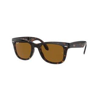 2f4e12dfa Óculos de Sol Ray-Ban RB4105 Original Wayfarer Dobrável