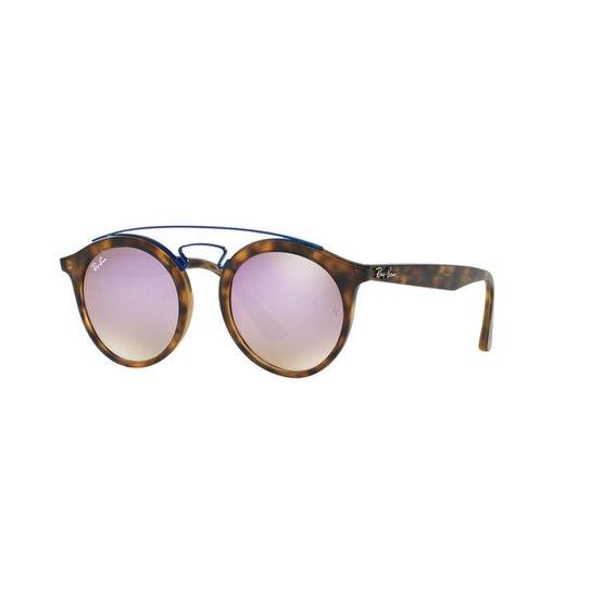 2bcd50edd Óculos de Sol Ray-Ban RB4256 Gatsby Redondo | Netshoes
