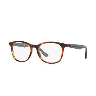 78240ac8d8d70 Óculos Ray-Ban Feminino Marrom - Casual