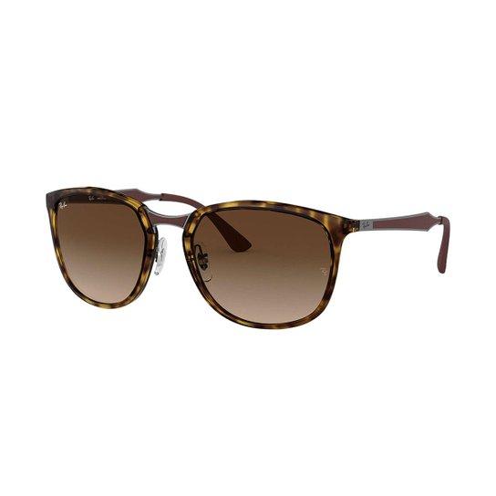 81835edc4df4f Óculos de Sol Ray-Ban RB4299 Feminino - Marrom - Compre Agora   Netshoes