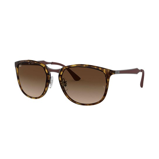 Óculos de Sol Ray-Ban RB4299 Feminino - Marrom - Compre Agora   Netshoes 7fb52e2236