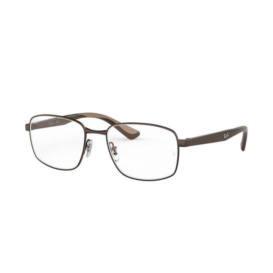 Óculos de Grau Ray-Ban RB6423 Masculino - Marrom - Compre Agora ... 59876fb505