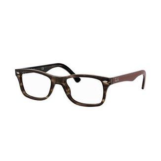 e3b4093e2fb70 Armação de Óculos Ray-Ban RB5228 Feminina