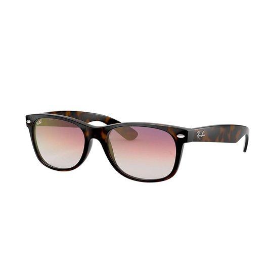 bcc7968f1 Óculos de Sol Ray-Ban New Wayfarer Feminino - Marrom | Netshoes