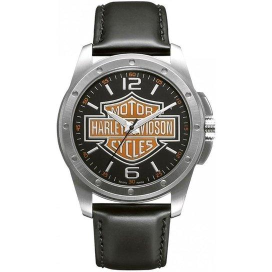 d89f166a07f Relógio Bulova Harley Davidson WH30019T - Preto e Prata - Compre ...