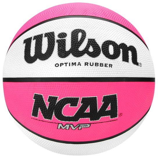 00a4e651052b4 Bola Basquete Basquete Wilson NCAA MVP Neon - Compre Agora