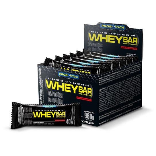 dbd1183ff Whey Bar Low Carb c  24 Barras - Probiótica - Amendoim - Compre ...