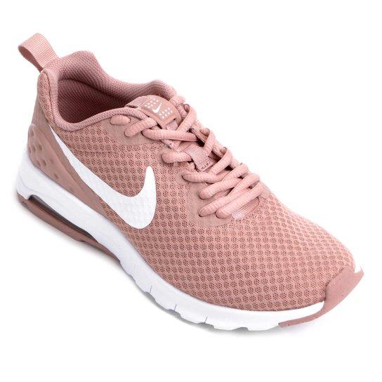 28bb0dd0b Tênis Nike Air Max Motion Lw Feminino - Pink+Branco
