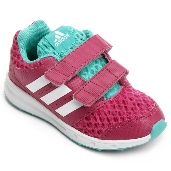 bc9a007bb58 Tênis Adidas Lk Sport 2 Cf K Infantil - Compre Agora