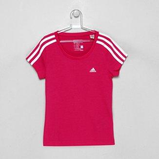 Camiseta Adidas Yg Ess 3S Infantil bcf822804c949