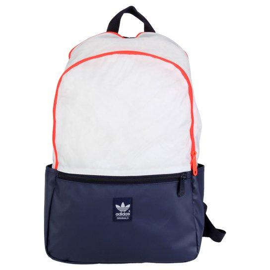 ea898ba3f Mochila Adidas Originals Ess Running - Marinho+Branco