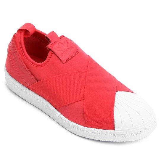 60f5ab17d7147 Tênis Couro Adidas Superstar Feminino - Compre Agora