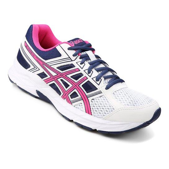 Tênis Asics Gel Contend 4 A Feminino - Pink e Branco - Compre Agora ... bc4ce642733b6