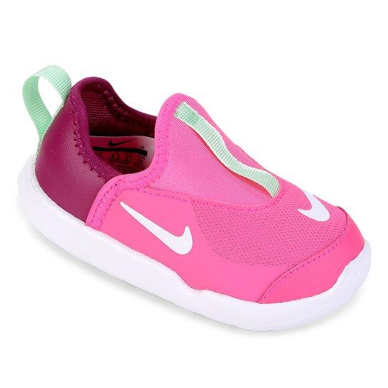 d284d80a40cb3 Tênis Infantil Nike Lil' Swoosh Feminino - Pink e Branco | Netshoes