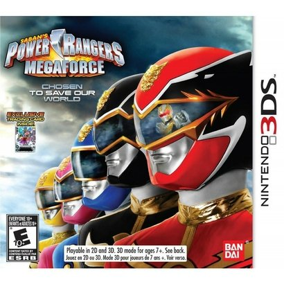 3DS - Power Rangers Megaforce Bandai Namco. Power Rangers Megaforce faz você embarcar em um novo capítulo de uma das sér...