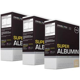 3x Albumina - Super Albumin - 500g - Probótica