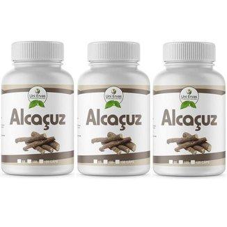 3x Alcaçuz Original 500mg Uniervas 100cps