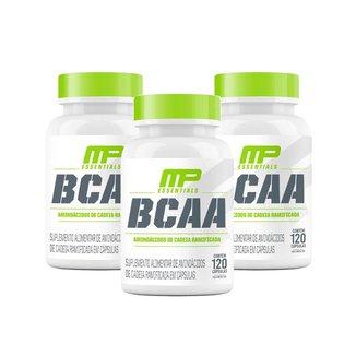 3X Bcaa (120 Cápsulas) (120 Cápsulas) - Musclepharm