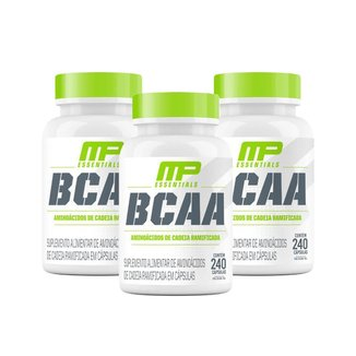 3X Bcaa (240 Cápsulas) (240 Cápsulas) - Musclepharm