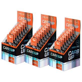 3x Carb Up Black Gel - Caixa 10 Sachês - Laranja - Probiótiica