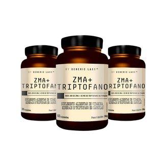 3X Testbooster (60 Cápsulas) - Generic Labs