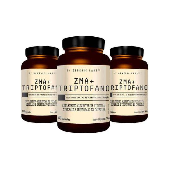 3X Testbooster (60 Cápsulas) - Generic Labs -