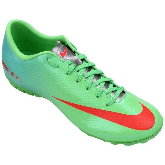54d8a485da Chuteira Society Nike Mercurial Victory 4 TF - Compre Agora