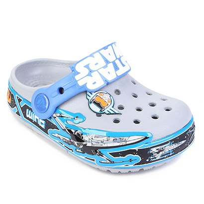 Sandália Infantil Crocs Lights Star Wars