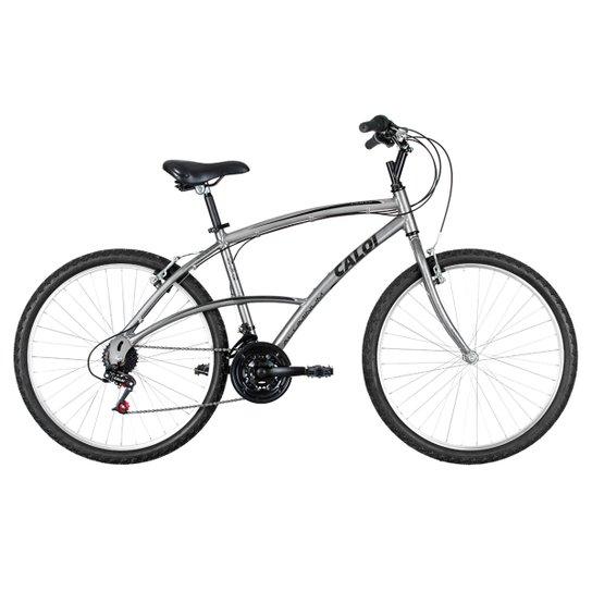 e805e240c Bicicleta Caloi 100 SW - Aro 26 - Prata